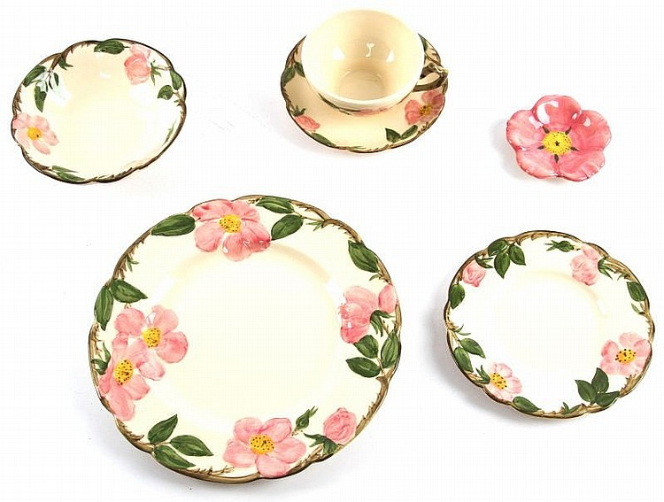 FRANCISCAN DESERT ROSE CALIFORNIA DINNER SET