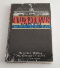 MULLER JOURNALS VOL 1: 1948 - 1950 THE WASHINGTON