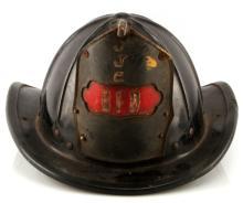 OBSOLETE BOSTON FIRE HELMET VINTAGE