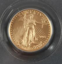 2005 GOLD 1/10 OZT AMERICAN EAGLE COIN PCGS MS69