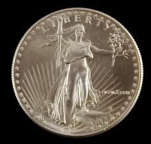1986 GOLD AMERICAN EAGLE $50 1 OZT BU COIN