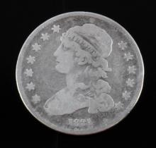 1831 SILVER CAPPED BUST QUARTER COIN BETTER DATE