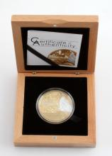 2015 BUTTERFLY SHADES OF NATURE SILVER COIN