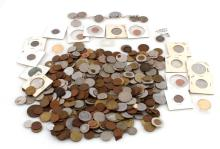 5 POUNDS OF UNSEARCHED WORLD COINS & NUMISMATICA