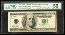 ERROR BANKNOTE $100 MISSING COLOR SHIFTING INK