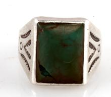 NATIVE AMERICAN BELL TRADING COMPANY STERLING RING