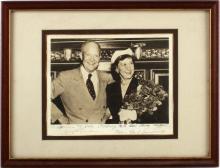 DWIGHT D. EISENHOWER & MAMIE AUTOGRAPHED PHOTO