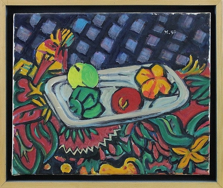 Ivo Hauptmann (1886 - 1973) - Öl auf Leinwand,