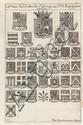 POUTHIER DE GOUHELAND (Antoine Eléonore). Statuts de l'ordre de S. George, au comté de Bourgogne ; et la liste de tous les Chevaliers dudit ordre depuis l'an 1390. Besançon, Jean-Félix Charmet, 1768. In-8, basane marbrée, dos orné, pièce de titre