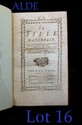 [RESTIF DE LA BRETONNE (Nicolas-Edme)]. La Fille naturelle. La Haye ; Paris, Humblot, Quillau, 1769. 2 tomes en un volume in-12, demi-basane rouge avec coins, dos lisse orné de filets dorés, tête dorée (Reliure moderne).