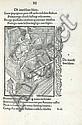 BRANT (Sébastien). Stultifera navis. Bâle, Johann Bergman de Olpe, 1er mars 1497. In-4, veau brun, triple filet, dos orné, pièce de titre orange, dentelle intérieure, tranches dorées (Reliure anglaise du XIXe siècle).