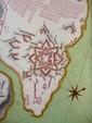 [ANONYME] Plan du fort St. Philipe en l'isle de Minorque. [vers 1756]. 401 x 534 mm.