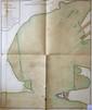 [ANONYME]. Plan du port de Bouc. [milieu XVIIIe siècle]. En deux feuilles jointes de 778 x 662 mm.