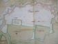 [ANONYME]. Plan de Toulon. A Toulon le 7 janvier 1720. En trois feuilles jointes de 353 x 500 mm.