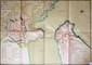 [ANONYME]. Plan de la citadelle St. Nicolas et fort St. Jean de Marseille 1754. En trois feuilles jointes de 723 x 1038mm.