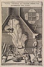 ZONCA (V.). Novo teatro di machine et edificii... Padoua, P. Bertelli, 1607, in-4°, maroquin bleu, sur les plats, décor à froid, dos à nerfs, doublure de maroquin blanc, tranches dorées (David).
