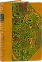 BAUDELAIRE (Charles). Théophile Gautier. Paris, Poulet-Malassis et de Broise, 1859. In-12, demi-chagrin citron avec coins sertis d'un double filet doré, dos orné de fleurons dorés avec ombilic de maroquin vert mosaïqué, tête dorée, non rogné (Reliure