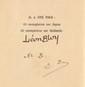 BLOY (Léon). Le Mendiant ingrat. Bruxelles, Edmond Deman, 1898. In-8, demi-chagrin prune, dos à nerfs, premier plat de couverture, tête dorée, non rogné (Moëns).