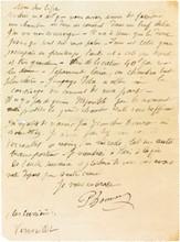 Pierre BONNARD (1867-1947) peintre. 6 L.A.S., 1901-1907 et s.d., à Cypa Godebski; 5 pages in-8 ou in-12 et 2 cartes postales, une enveloppe et 3 adresses (mouill. et défauts à qqs lettres).