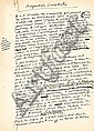 Pierre DRIEU LA ROCHELLE (1893-1945). Manuscrit autographe, Perspectives socialistes, [mars 1944] ; 7 pages et demie in-fol., avec additions et corrections.