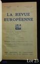 ARAGON (Louis). LE CAHIER NOIR. La Revue européenne du 1er février 1926. In-8 Bradel pleine toile rouge, dos titré, premier plat et couvertures conservées.