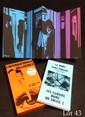 AUTRAND Charles. MONORY Jacques. LA MORT SANS PHRASE. Paris, Le Soleil Noir, numéro 2, 1968. In-8 vertical, couverture illustrée par Monory, broché, étui de l'édition.