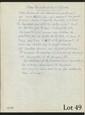 BLANCHARD (Maurice). DANS LA NUIT OÙ TOUT S'EFFONDRE. DOMITIUS AHENOBARBUS. 2 manuscrits autographes. 1956. 2 pages in-4.