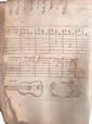 GUITARE. Manuscrit, début XVIIe siècle ; un volume petit in-4 de 345 pages, couverture de l'époque en parchemin (usagée, mouillures et coins abîmés).