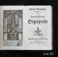 ORGUE Andreas WERCKMEISTER. Erweiterte und verbesserte Orgel-Probe (Augsburg, Lotter, 1783) ; in-12, cartonnage muet, 112 pp.