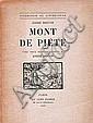 BRETON (André) Mont de piété (1913-1919) Paris, Au