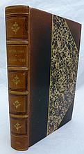 HUGO (Victor). Choses vues. Paris, Hetzel et Cie, Quantin, 1887. In-8, demi-chagrin noir avec coins, non rogné, couverture (Reliure de l'époque).