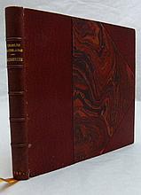 BAUDELAIRE (Charles). Causeries. Paris, Le Sagittaire, 1920. In-12 carré, demi-maroquin rouge avec coins, tête dorée, non rogné, couverture et dos (Marius Magnin).
