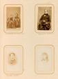 CORBIÈRE (Tristan). - Portrait du poète adolescent. Photographie sur carton fort, format carte de visite (90 x 54mm). Morlaix, Gustave Croissant, [vers 1862].