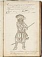 CHARPIN. Coppie tirée du Soliloque de Sainct Augustin fait par moy Charpin au premier décembre 1683. S.l.n.n., 1683. In-folio, basane brune (Reliure de l'époque).