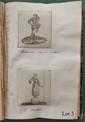 ALBUM de 172 vignettes gravées, découpées et collées sur 85 feuillets. Paris, Nancy, 1767-1768. In-8, demi-veau noir (Reliure du XIXe siècle).