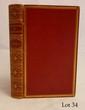 BRITISH ALMANAC (The). London, Knight, 1864. Grand in-12, maroquin rouge à long grain, double filet doré, dos orné de fleurons dorés, tranches dorées (Reliure de l'époque).