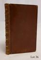 CAJOT (Dom). Histoire critique des coqueluchons. Cologne Metz, Collignon, 1762. In-12, veau fauve glacé, filet noir, dos orné, dentelle intérieure, tranches dorées (Reliure vers 1830).