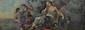 Le repos de Diane  Lithographie H.  44 cm - L.  120 cm