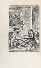 CAZOTTE (Jacques). Le Diable amoureux. Nouvelle espagnole. Naples [Paris, Lejay], 1772. In-8, veau brun marbré, filets en encadrement et fleurons d'angles, dos lisse orné, tranches marbrées (Reliure de l'époque).
