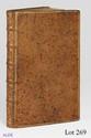 MANUSCRIT. - Recüeil contenant les instructions sur les finances données au Roy par Mgr le Duc d'Orléans le 26aoust 1722. Avec plusieurs autres mémoires tant sur les Domaines que sur les Fermes générales du royaume. Non daté 1730. Manuscrit in-folio