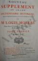 MORERI (Louis) - Le Grand dictionnaire historique
