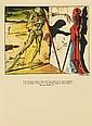 CERVANTES (M. de) - DALÍ (S.) - ALONSO (C.). El Ingenioso Hidalgo don Quixote de la Mancha. Buenos Aires, Emegé, 1957, 2volumes in-4°, en ff., couverture, chemise et étui d'éditeur.