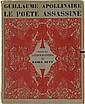 APOLLINAIRE (G.) - DUFY (R.). Le Poète assassiné. Paris, Au sans pareil, 1926, in-4°, broché, couverture, chemise illustrée d'éditeur avec rubans.
