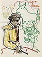 COCTEAU (J.). - MAGNAN (J.-M.). Taureaux, pour Pedres, Curro Romero, El Cordobes. Paris, Michel Trinckvel, 1965, in-folio, en ff., couverture illustrée, boîte d'éditeur.