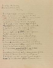 Sarah BERNHARDT (1844-1923). L.A.S. «Sarah» et photographie dédicacée; 1 page in-8 sur papier deuil à son chiffre et devise Quand même, et photo 9 x 14 cm contrecollée (traces de montage).