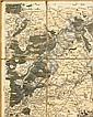 CASSINI. Carte de la France. Ensemble de 181 cartes composant le Royaume de France. Paris, s.n., 1756-1787. - FERRARIS (Joseph-Johann-Franz, comte de). Nouvelle carte chorographique des Pays-Bas autrichiens, y compris les principautés de Liège et de
