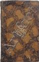 LES HONNÊTETÉS LITTÉRAIRES &c.; &c.; &c.; s. l. (Genève), 1767 ; in-8, veau brun porphyre, encadrements de filets à froid, chiffres couronnés dorés au centre des plats, dos lisse orné de filets dorés et fleurons, pièce de titre en maroquin fauve