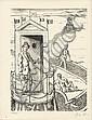 COCTEAU (Jean). Mythologie. Paris, 4 chemins, 1934. In-8, en feuilles, chemise à lacets.