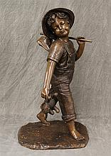 Bronze Statue of a Wandering Boy, 39