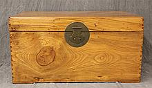 Chinese Chest with Round Brass Latch, 19